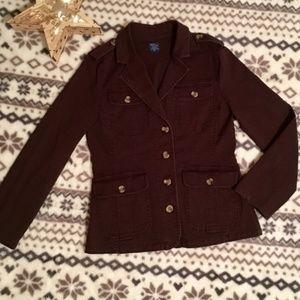 NWOT jockey brown jacket